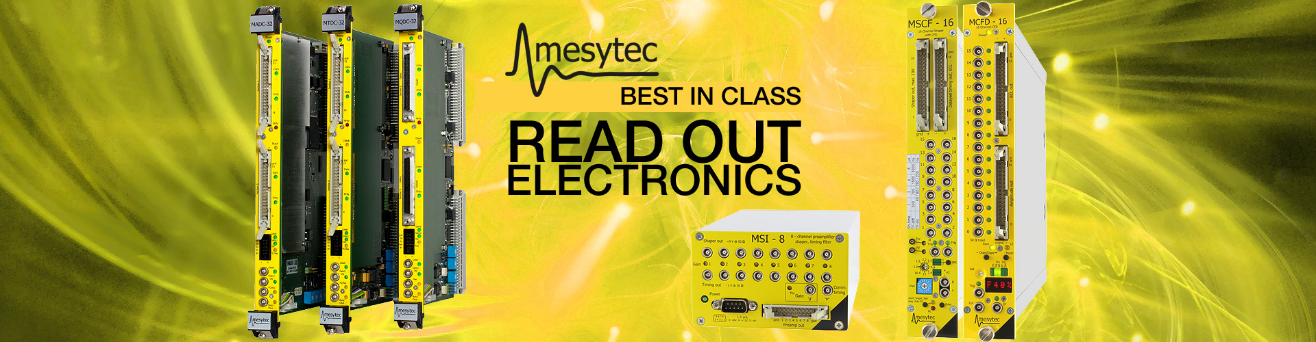 MESYTEC READ OUT ELECTRONICS